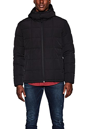 Winter Jacke Esprit (ESPRIT Herren Jacke 117EE2G002, Grau (Anthracite 010), Medium)