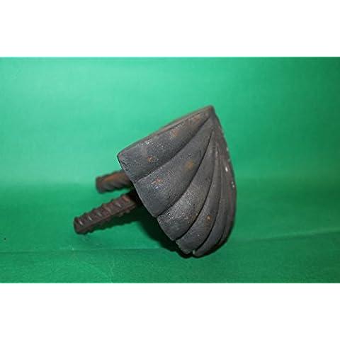 Conchiglia Ferma Portone in ghisa cm 12 kg 1,4 Vintage - Chiocciola Conchiglie