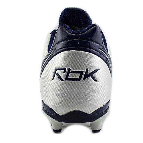Reebok NFL Burner Speed Low M3 Leder Klampen White/Team Dark Royal
