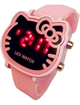 Hello Kitty watches Girls Ladies Watches Silicone kids Watch WKT@KTW004P