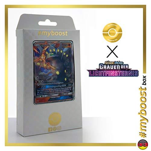 Zygarde-GX SM122 - #myboost X Sonne & Mond 6 Grauen Der Lichtfinsternis - Box de 10 Cartas Pokémon Aleman