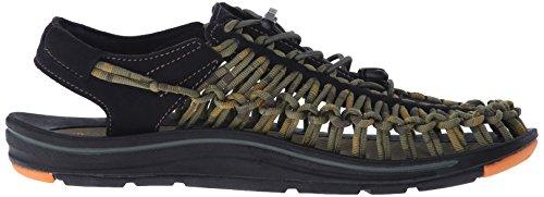Keen Schuhe UNEEK STRIPES M in ORANGE OCHRE/RAYA, Größe 10.5, KE1014619 -