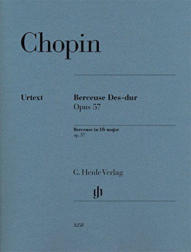 Berceuse Opus 57 en réb Majeur --- Pian...