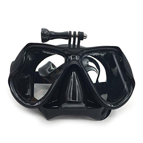 ranuw Unterwasser Tauchen Maske Schwimmbrille für GoPro Hero 5/4/3Action Kamera Scuba Snorkle
