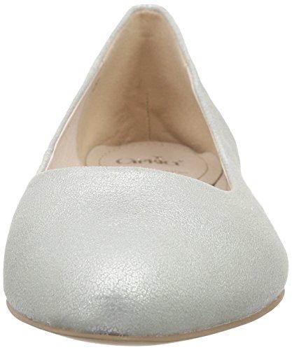 Caprice 22107, Ballerines fermées femme Argent - Silber (Silver 941)