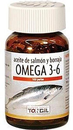 Omega 3 y 6 Salmón Borraja 100 perlas de Tongil