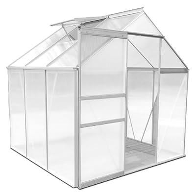 Rotfuchs® ALU Gewächshaus GH-Serie 6mm Hohlkammerstegplatten von PRIMOPET auf Du und dein Garten