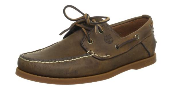 ff2bd762e60106 Timberland Heritage CW Boat FTB 2 Eye Men's Boat shoes: Amazon.co.uk: Shoes  & Bags