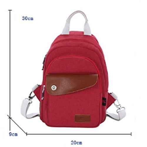 Ladies shoulder bags,pacchetto messager,borsa di tela,borsa da viaggio-IL Riso Bianco Rosso