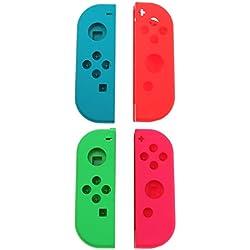Homyl 2 Set Custodia Di Ricambio, Copertura Superiore Adatto per Nintendo Switch Controller Joy-Con