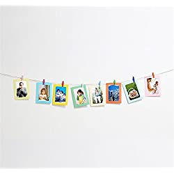 Photo Clip Fairy Hanging Photo Frames Indoor Picture Frames Wall Decor Christmas Party Dorm Home Bedroom Decorations ,A