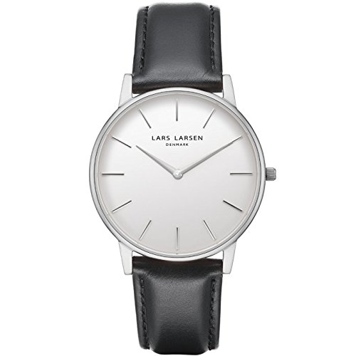 'Lars Larsen Oliver Acero Inoxidable con Esfera Blanca 39 mm Watch