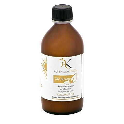ALKEMILLA -Huile de Coco Soin hydratant pour la peau sèche et les cheveux secs 100 ml