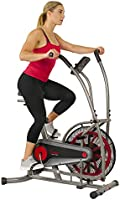 Sunny Health & Fitness Unisex Adult Sf-B2916 Motion Air Bike - Grey, One Size