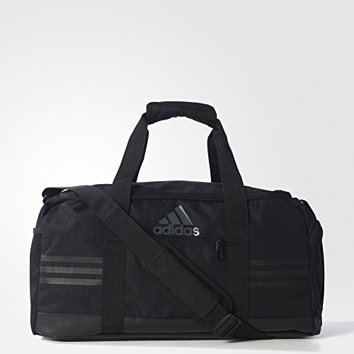 adidas Sporttasche 3 Stripes Performance Teambag Small, Black/Vista Grey, 50 x 23 x 25 cm