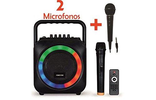 KARAOKE PORTATIL CON MICROFONO USB/SD/MP3 BOX-35LE CON 1 MICROFONO INALAMBRICO +...