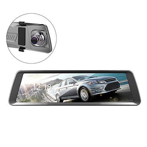 Auto DVR Fahren Recorder 9,88 Zoll HD IPS-Bildschirm 1080 P 6G HD Mobile Geschwindigkeitsmessung Starlight Video Collision Lock Vollbild-Touch-Dual-Objektiv