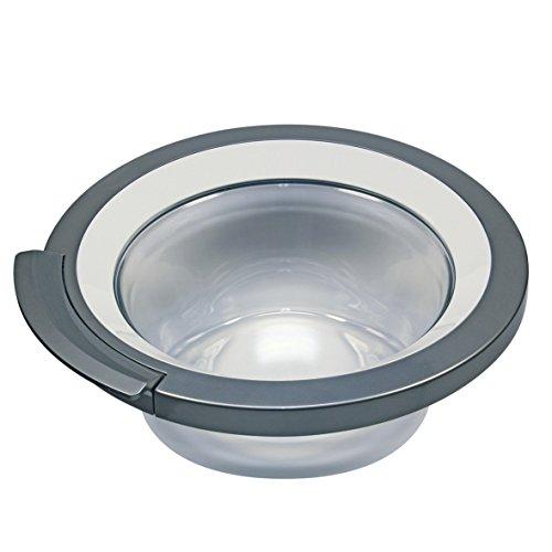 Tür komplett Ring Bullauge weiß grau Glas Kunststoff Waschmaschine Frontlader Original Bosch Siemens 00704287 passend Constructa Gaggenau Balay VarioPerfect was24 was28 was32 cwf10 wm260 wm14 wpp1000 -