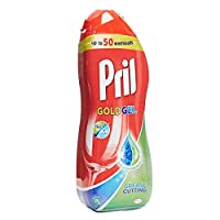 Pril All in 1 Gold Gel Grease Cutting Dishwasher Detergent - 1 l