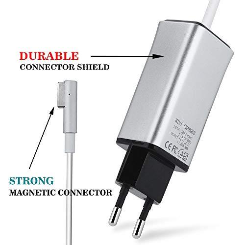 Adattatore Tipo MagSafe2+Connettore femmina per Macbook A1425 A1435 A1465 A1502