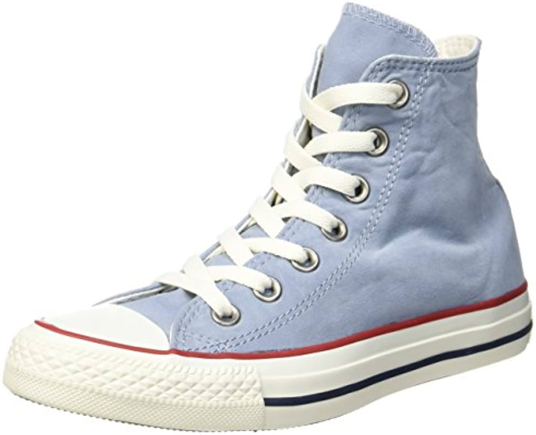 Converse Unisex Erwachsene CTAS Hi Blue Slate/Garnet/White Hohe Sneaker