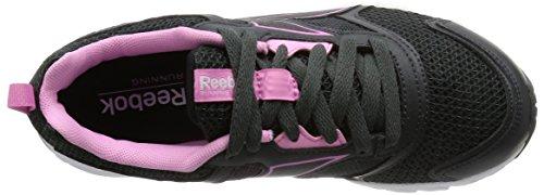 Reebok Pheehan Run 4.0Chaussures de sport, femme Graphite-Noir-Rose
