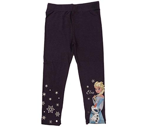 Leggings pantaloni bambina disney frozen anna elsa olaf (3 anni)
