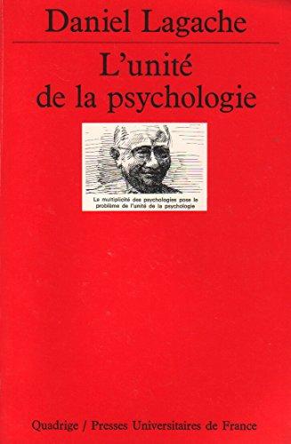 L'unité de la psychologie