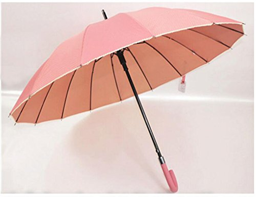Bar Sunny Regenschirm Gold Kleber Anti-UV Prinzessin Sun Umbrella Pink Regenschirm (Farbe : Rosa) ()