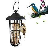 uccelli antibatterica resistente agli agenti atmosferici stuzzicante Appeso Strumento automatico di alimentazione per uccelli Mangiatoia per uccelli in metallo di alta qualità Durevole e smontabile
