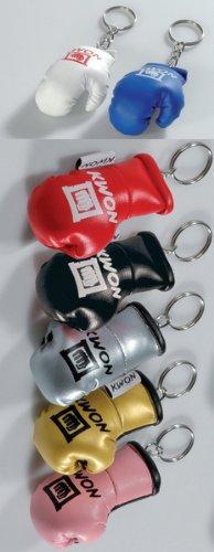KWON Schlüsselanhänger Boxhandschuh silber