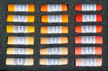 Unison Pastel secs : ensemble de 18 Oranges