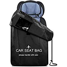 TAKOYI Car Seat Travel BagWaterproof Infant Car Seat Cover for Airplane and Baby Carrier Travel Bag with Backpack Shoulder Straps for Baby Stroller Child SeatsCar SeatsGolf Stroller Wheel Chair