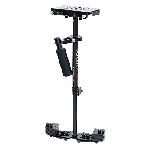 FLYCAM HD-3000 Handheld Video Stabilizer Supporting Cameras weighing upto 3.5kg/8lbs - FREE Table Clamp and Quick Release Plate