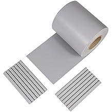 iFence Paneles Protectores de PVC Privacidad 450 g/m² DE 50 Metros x 19 cm