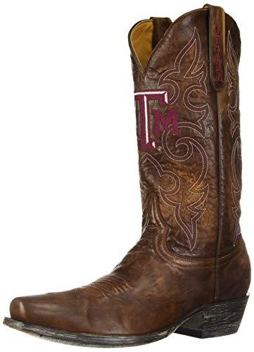 Gameday Boots NCAA Texas A & M Aggies Herren Boardshorts Raum Stil Stiefel, Herren, Messing, 8.5 D (M) US - Ncaa Spiele