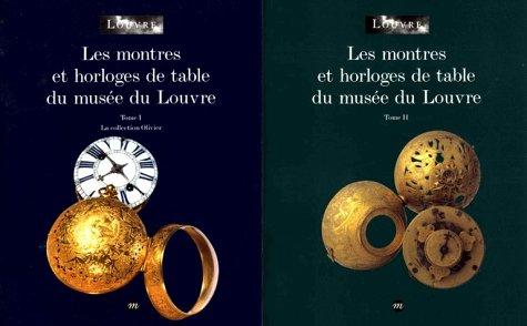 Les montres et horloges de table du musée du Louvre