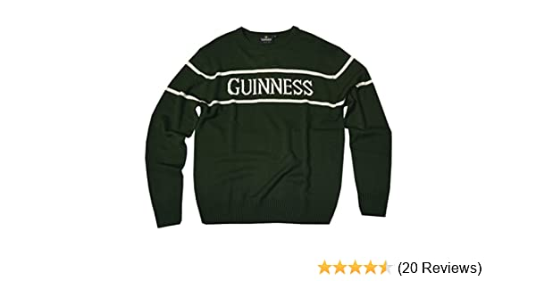 Guinness Bottle Green Crew Neck Sweater | Comfortable Stylish Sweatshirt Pullover for Men