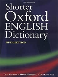 Shorter Oxford English Dictionary: On Historical Principles