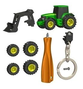 Bruder 00411 - Llavero de Tractor John Deere y Accesorios