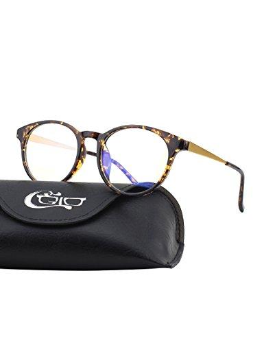 CGID BL28 Premium TR90 Rahmen Bildschirmbrille, Blaulichtschutz, Brille gegen Augenmüdigkeit,...