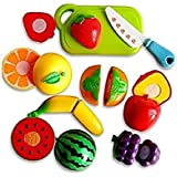 SuperToy(TM) Kitchen & Pretend Play Food Toy (Sliceable Fruits Cutting)