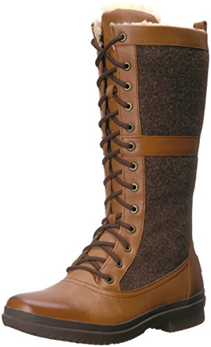 UGG Women's Elvia Boot, Chestnut, 7 M US