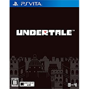 8-4 Undertale PS Vita SONY Playstation JAPANESE VERSION