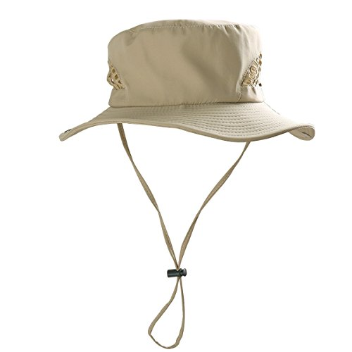 tiaobug-femme-homme-voyager-peche-chapeau-aventure-bonnie-bush-large-bord-kaki-circonference-de-tete