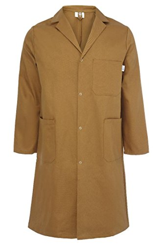 Yarmo Mens Cotton Warehouse Coat Made in England - CT01K Test