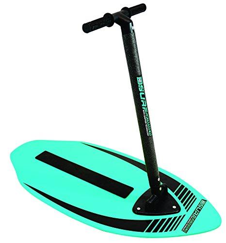 D6 Surf 54320 - Tabla de Surf, Tabla de Surf, Skimboard con mango, diversión 2-en-1, azul / verde