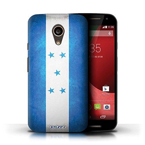 Kobalt® Imprimé Etui / Coque pour Motorola Moto G (2014) / Ghana conception / Série Drapeau Honduras