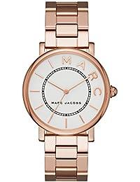 Marc By Marc Jacobs Reloj analógico para mujer Quartz Acero Inoxidable ROS & eaigu; Oro mj3523