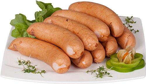 Waldfurter Wurst und Würstchen: Oppelner Bockwurst 0,8 Kg | Schlesische Lebensmittel | Kühlversand